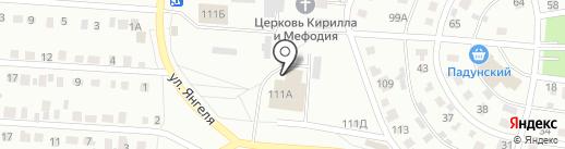 Шансон в Братске, FM 102.1 на карте Братска