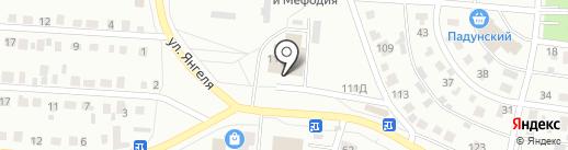 Авторадио-Братск, FM 102.9 на карте Братска