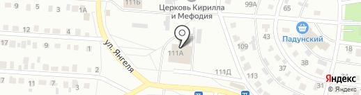5 канал на карте Братска