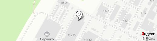 Оптово-розничная фирма на карте Братска