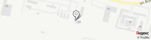 Промстройинженеринг на карте Братска