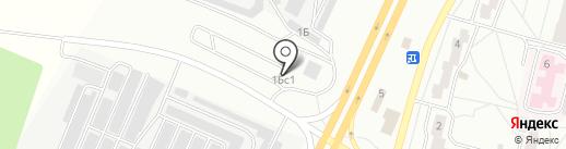 Автогалачинская на карте Братска