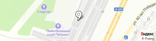 Авторемонтная мастерская на карте Братска