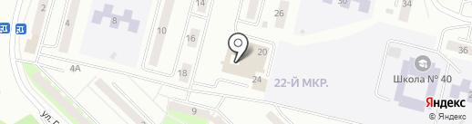 Продовольственый магазин на карте Братска