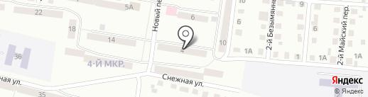 Братск-Иркутск-Братск на карте Братска