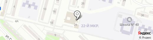 Братск-АйТи на карте Братска
