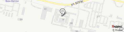БЕЛШИНА на карте Братска