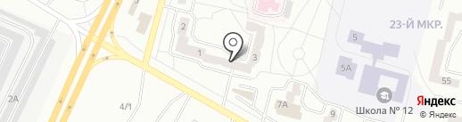 Участковый пункт полиции №4 на карте Братска