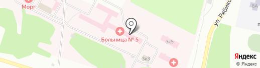 Центр здоровья на карте Братска