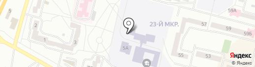Всероссийское общество автомобилистов на карте Братска
