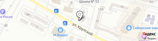 Магазин разливного пива на карте Братска
