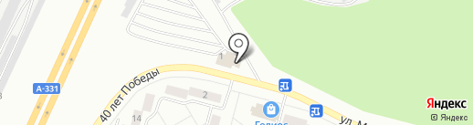 Погребок на карте Братска