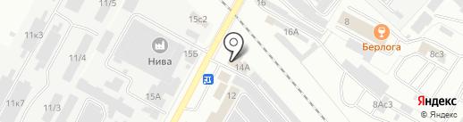 Сварочная мастерская на карте Братска