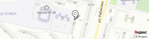 Участковый пункт полиции №8 на карте Братска
