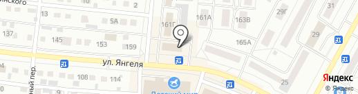 Бонжур на карте Братска