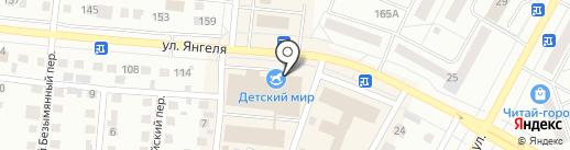 Торговая точка на карте Братска
