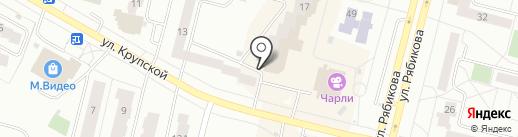Магазин фруктов и овощей на карте Братска