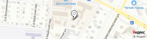 Центр ГО и ЧС г. Братска на карте Братска