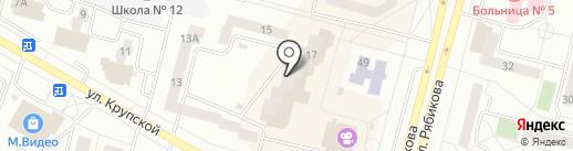 Элегия на карте Братска