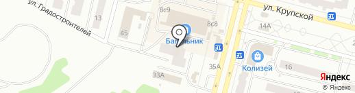 Fix-Roll на карте Братска