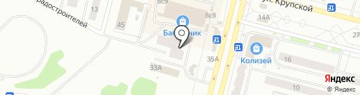 ЛЕГЕНДА на карте Братска