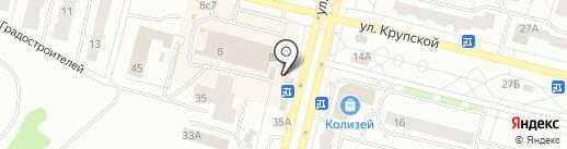 Золушка на карте Братска
