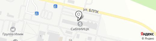 Почтовое отделение №18 на карте Братска