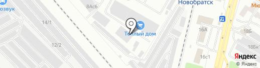 Первая Экспедиционная Компания на карте Братска