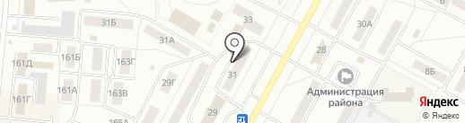 Всероссийское общество инвалидов Центрального округа г. Братска на карте Братска
