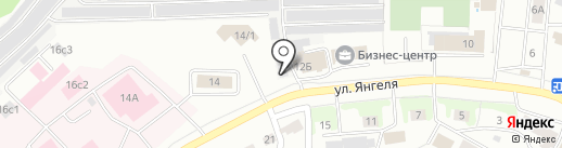 FORDec на карте Братска