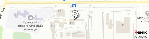 ВАЗАРИ на карте Братска