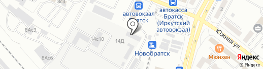 Restart на карте Братска