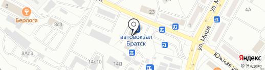 Магазин антиквариата на карте Братска