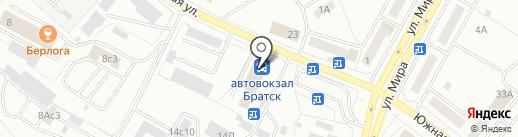 ЦИФРА на карте Братска