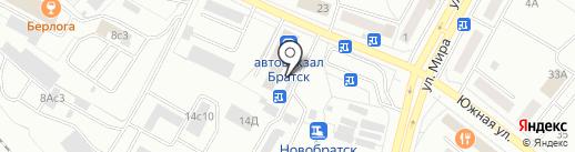 Пивовоз38 на карте Братска