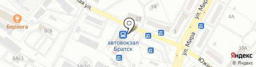 ЦЕНТРГАРАНТ СПБ на карте Братска