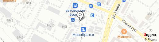 Кыргызская лепешка на карте Братска