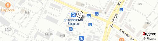 ПИВсоюз на карте Братска