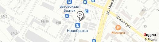 Отличные наличные на карте Братска