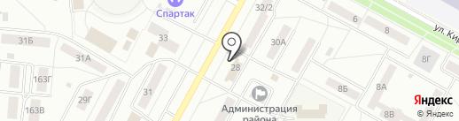 Братский районный суд на карте Братска