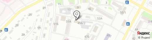 АВТО КОРЕЯ на карте Братска