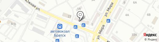 Сота-сервис на карте Братска
