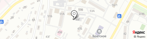Охрана Росгвардии, ФГУП на карте Братска