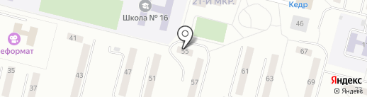 УЛЕЙ на карте Братска