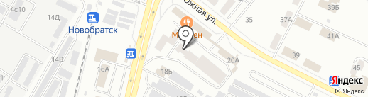 Гарант-Сервис Иркутск на карте Братска
