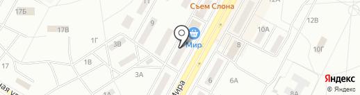Печати5 на карте Братска