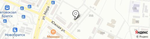 ТрансКонтейнер, ПАО на карте Братска
