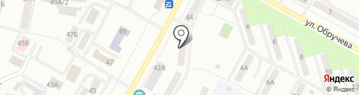 Север на карте Братска