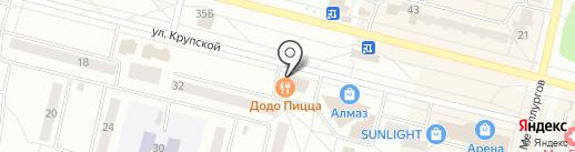 ДОДО пицца на карте Братска