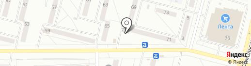 Хлеб Соль на карте Братска